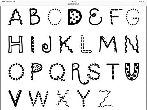 zie voor veel voorbeelden tips de website van postfabrieknl hand belettering alfabet