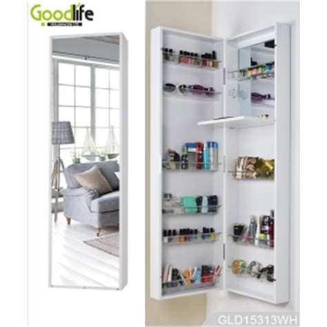 The Door Mirrored Hanging Armoire by Wall Mounted Or Hanging The Door Mirrored Makeup