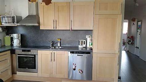 Ikea Faktum Küche Mit Ädel Birke Fronten 1 Hoorkcom
