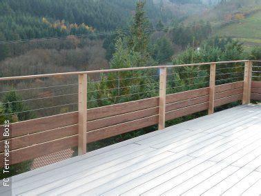 garde corps bois inox fc terrasse bois bricolage en 2018 garde corps garde