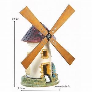 Moulin À Café Pas Cher : moulin avec roue tuile d coration de jardin 54 cm achat pas cher ~ Nature-et-papiers.com Idées de Décoration