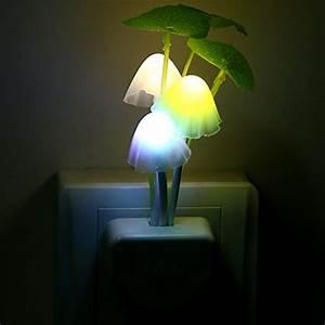 Kids, Night, Light, 2pcs, Led, Plug, In, Nightlight, For, Kids, Children, Color, Changing, Led, Sensor