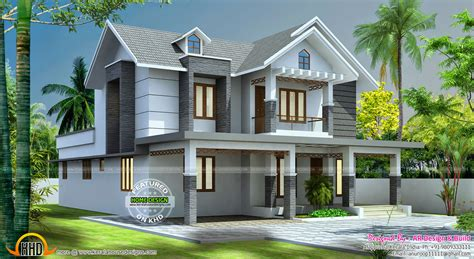 1500 sq ft home plans beautiful 2545 sq ft home design kerala home design and