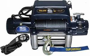 Integrated Superwinch Talon 12 5i Is A Perfect Fit For Electric Winch With Synthetic