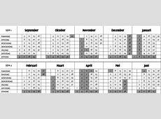 Kalender PCVO Limburg