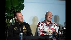 Surprise press conference in full | Tyson Fury, Frank ...