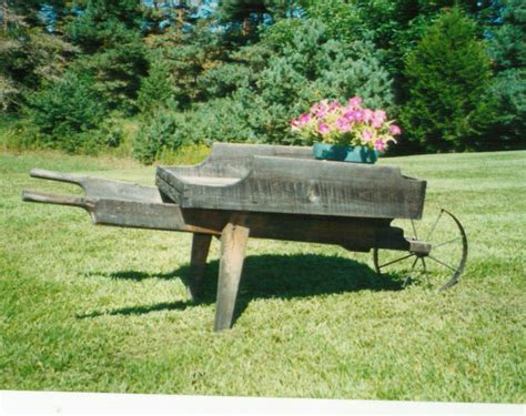 wooden wheelbarrow plans plans woodworking