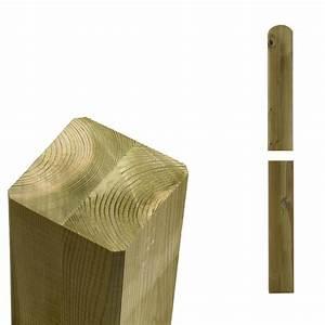 Sonnensegel Pfosten Holz : garten im quadrat pfosten holz natur f r sichtschutz ~ Michelbontemps.com Haus und Dekorationen