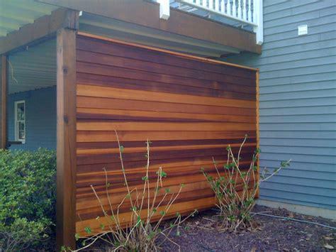 Cedar Privacy Wall  Decks & Fencing  Contractor Talk