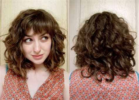 Best 25+ Curly Hair With Bangs Ideas Only On Pinterest