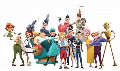Robinsons Meet Disney Characters Forward Moving Keep