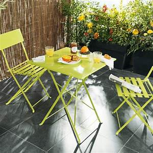 Mini Salon De Jardin : meubles de balcon compacts en mat riaux selon l 39 orientation ~ Teatrodelosmanantiales.com Idées de Décoration