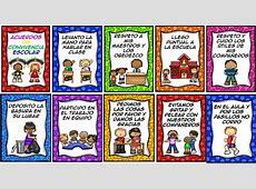 Fabulosos diseños de acuerdos de convivencia escolar