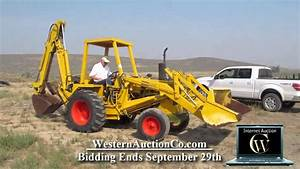 Case 580b Backhoe For Sale At Auction
