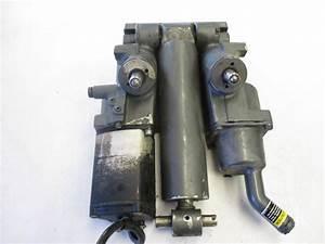 818186a 3 Mercury Outboard Complete 3 Wire Ram Power Trim  U0026 Tilt Motor Unit 8181
