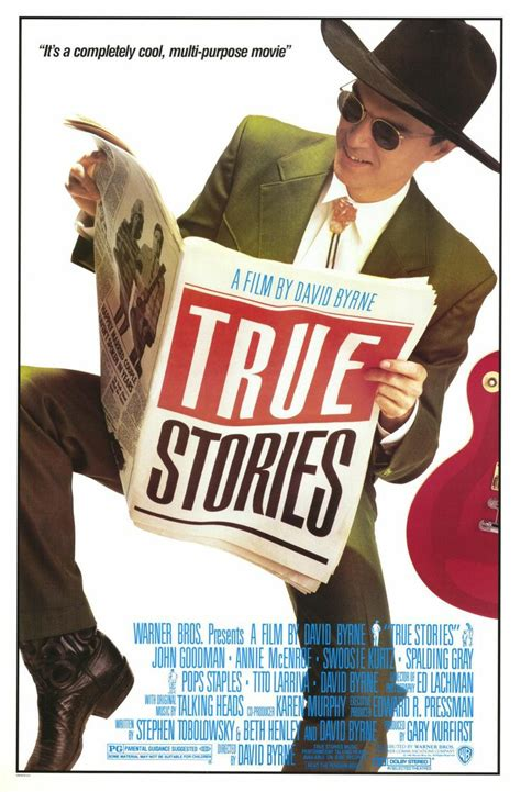 True Stories Movie Poster, Titles, Album Art  Fonts In Use