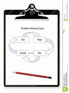 Problem Solving Diagram Stock Image