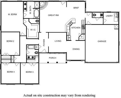 bedroom floor plans   story house bill