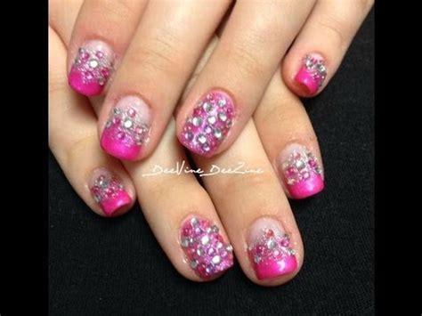 sweet  glamour nails  sensationail youtube