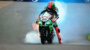 Tom Sykes Massive Engine Blow Up