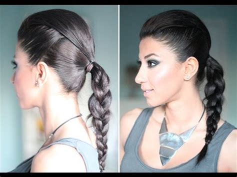 and easy hair styles for hair inspired edgy everyday hair 5725