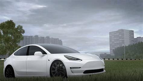View Tesla 3 Auto Open Mod PNG