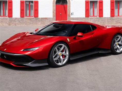'she drives a red ferrari' is an indisputable big hit from beginning to end. Red, Ferrari SP38, 2018 wallpaper | Sports car, Super cars, Sports cars luxury