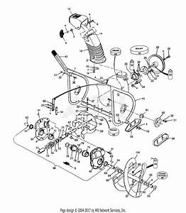 Mtd 317e980i000  1997  Parts Diagram For Drift Cutter Assembly