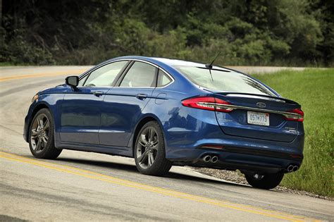 Ford Fusion Horsepower by 2017 Ford Fusion Sport Is Big On Power And Performance