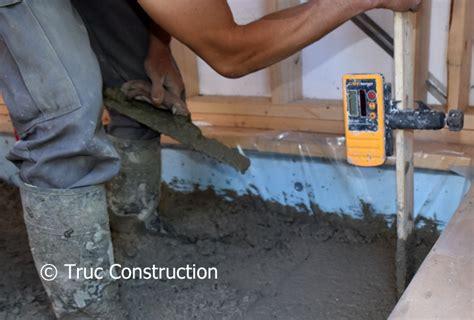 epaisseur minimum dalle beton maison design hompot com