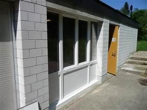 epique porte de garage avec baie vitree en pvc 66 sur With porte de garage et porte d intérieur pvc