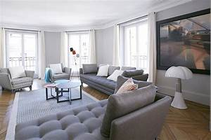 Peinture Moderne Salon : appartement dans le marais paris ~ Teatrodelosmanantiales.com Idées de Décoration