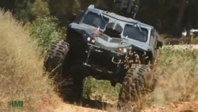 Combat Armored Guard 4x4 Extreme Vehicle Imi