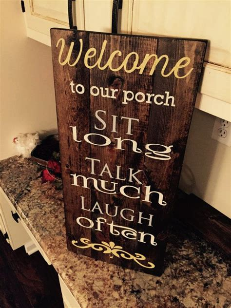 porch wood sign  greatestlovedesigns