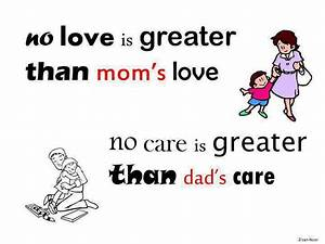 Parents Love is great | Inspirational Quotes - Pictures ...