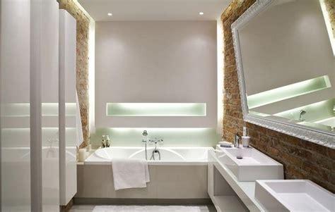 indirekte beleuchtung für fenster 30 wohnideen f 252 r badezimmer bad ohne fenster einrichten