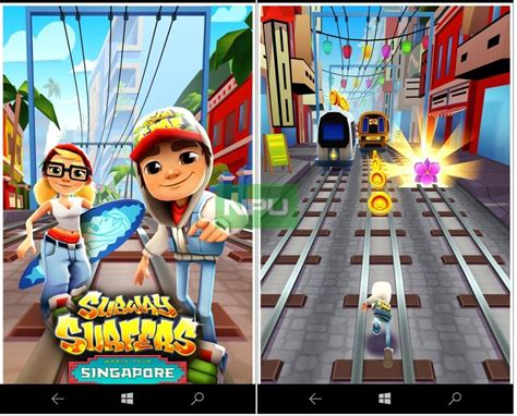 subway surfers for windows 10 mobile snags a minor update