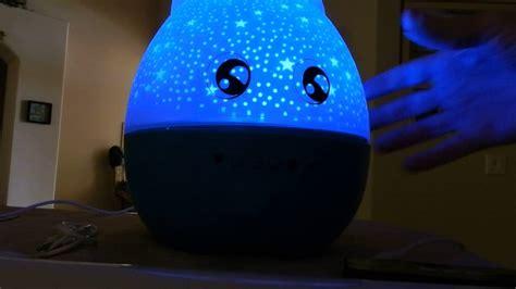 rotating  night light projector lamp baby