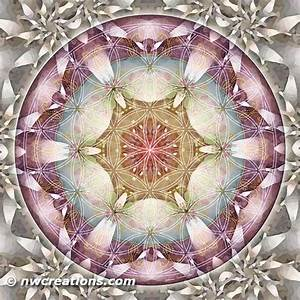 Mandala Monday - Flower of Life Mandalas Part 3