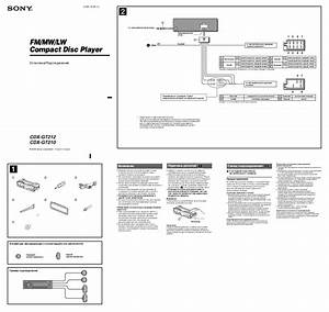 Sony Cdx Gt300mp Wiring Diagram