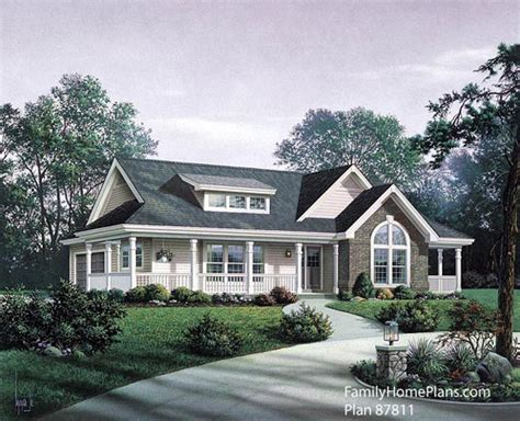 Home Plans With Front Porch by Small House Floor Plans Small Country House Plans