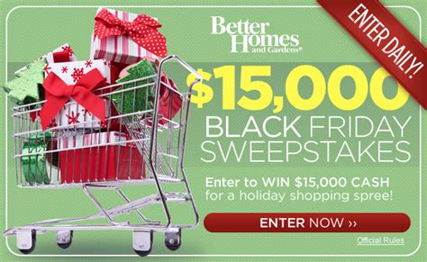 bhg daily sweeps bhg com