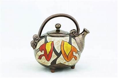 Teapot Ceramic Pottery Handmade Unique Stoneware Quirky