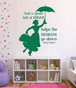 disney wall decals mary poppins disney home decor With disney wall decals