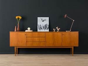 Mid Century Möbel : 1960er sideboard 50er 60er vintage teak von mid ~ A.2002-acura-tl-radio.info Haus und Dekorationen