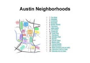 Austin TX Neighborhoods Map
