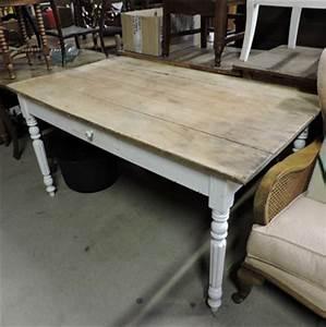 Table Bois Pied Blanc : les meubles occasion ~ Teatrodelosmanantiales.com Idées de Décoration