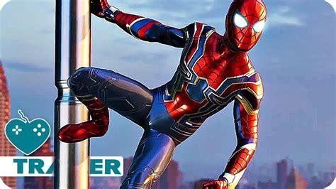 Marvel's Spider-man Iron Spider Trailer (2018) Ps4 Game
