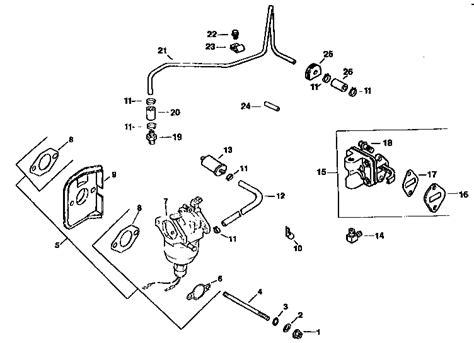 kohler engine fuel system parts model cv15s 41565