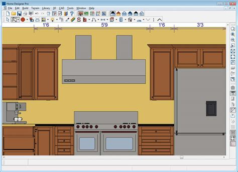pro kitchen design software home designer pro 4419
